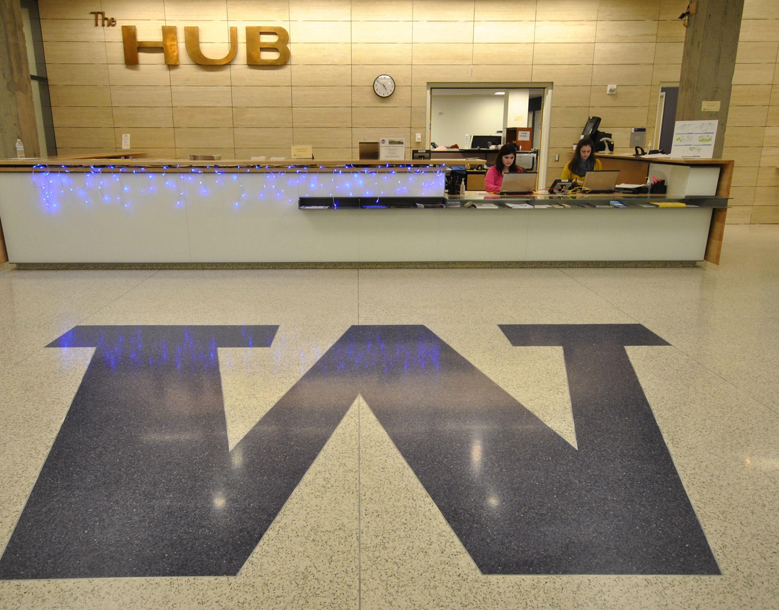 The HUB Main Desk