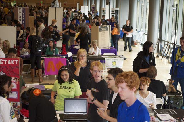 HUB Student Activities Fair