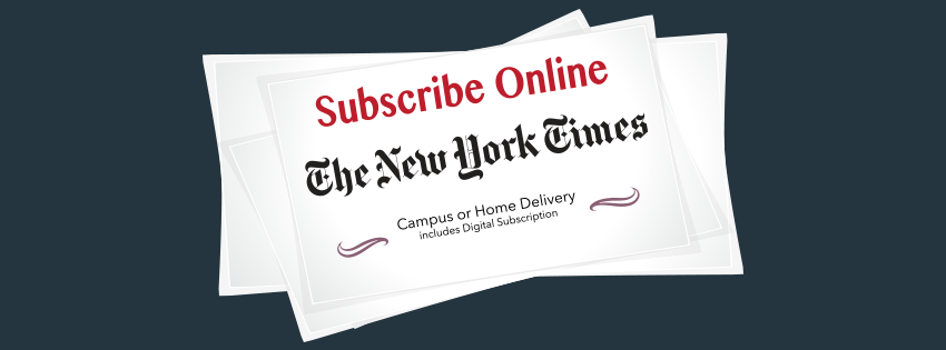 NYTimes Campus Subscription