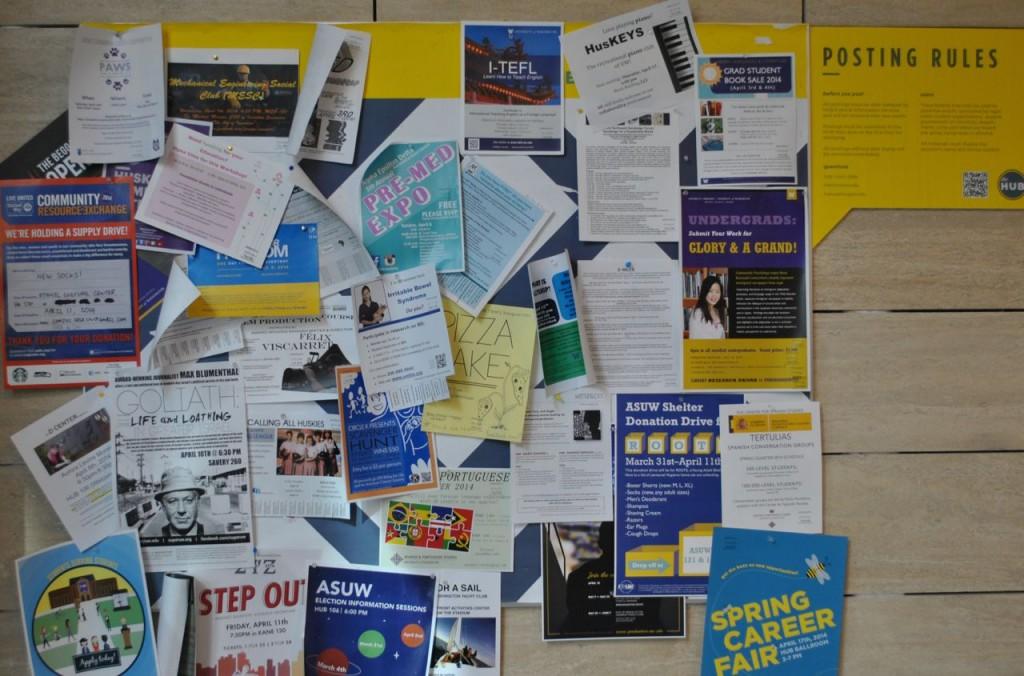 HUB Bulletin Boards