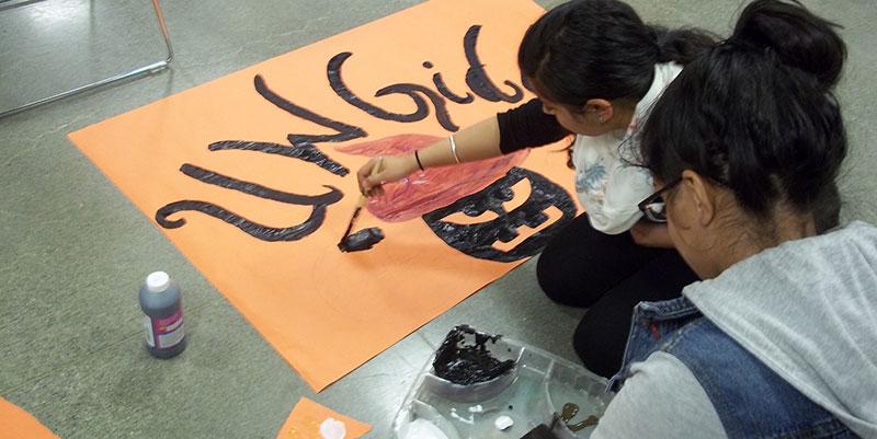 SORC Banner Making