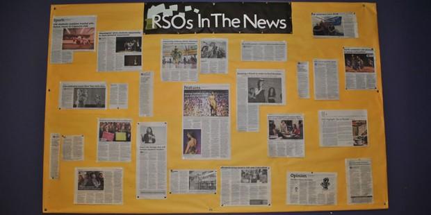 SORC Bulletin Board
