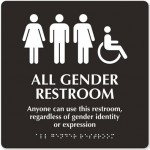 HUB Gender Neutral Bathroom
