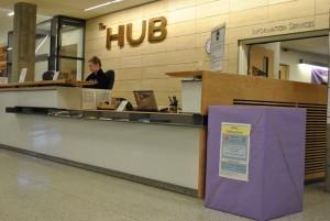 HUB Advertising - Donation Bin