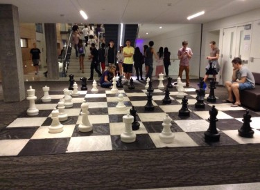 HUB Crawl 2014: Chess in the HUB