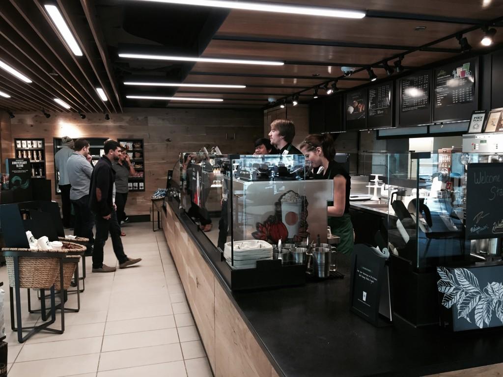 Starbucks at the HUB