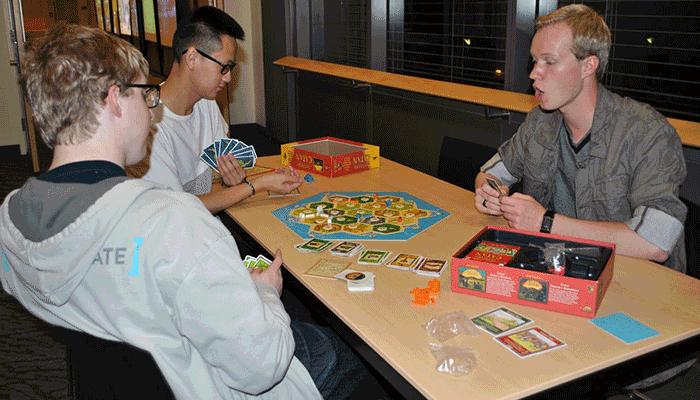 Board Gaming - HUB Second Floor