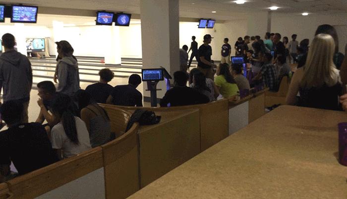 HUB Games: Bowling - HUB Basement