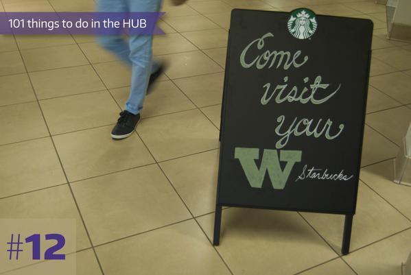 12-Starbucks at the HUB