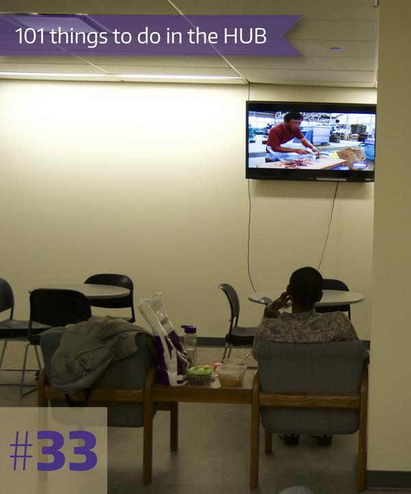 33-Watch TV in HUB Games