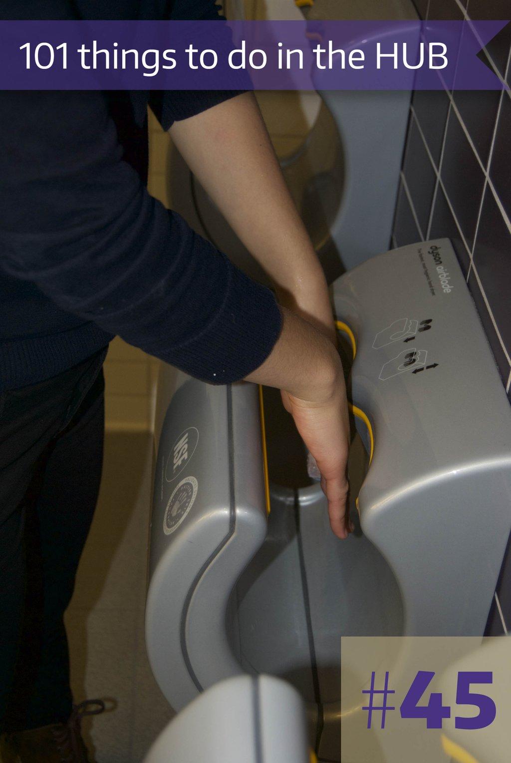 45-HUB Hand Dryers
