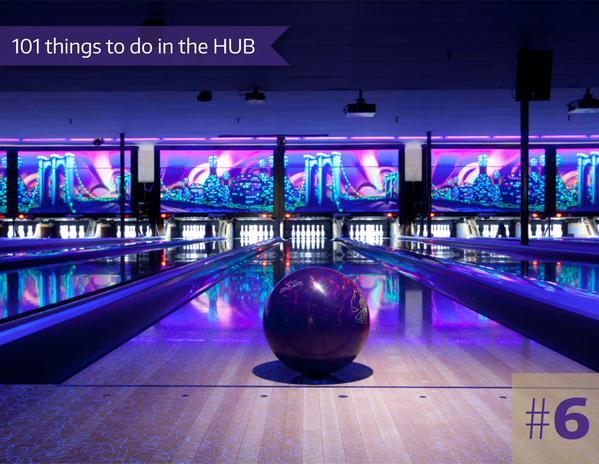 6-Cosmic Bowling at HUB Games