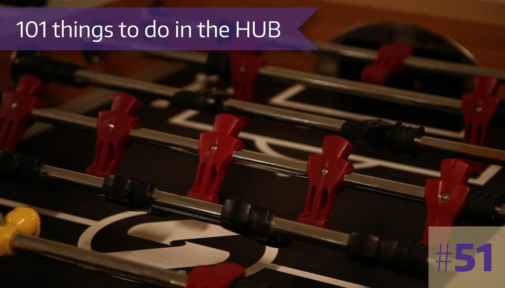 51. HUB Games hosts several tournaments every quarter.
