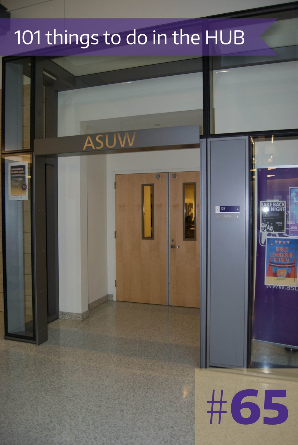 65. Apply for an ASUW job