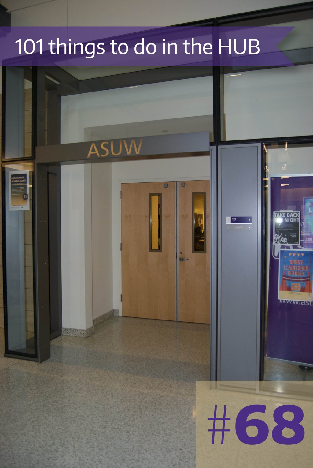68. Apply to be an ASUW Volunteer