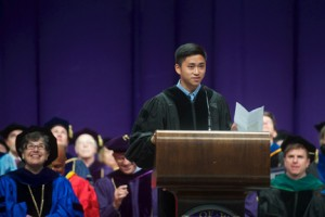 Tyler Wu, ASUW president