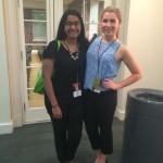 Riya Nath, Stacey Hurwitz, HUB Leadership Fund recipients