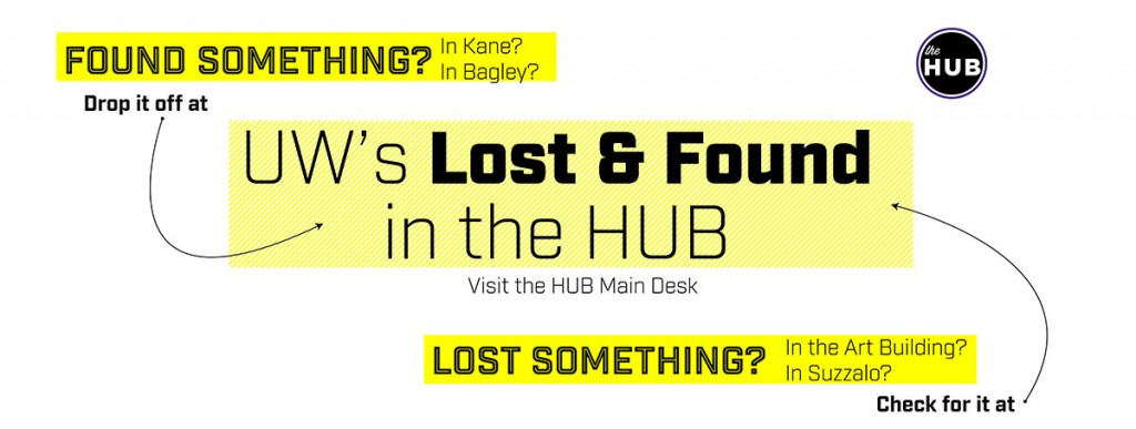 Campus Lost & Found at the HUB
