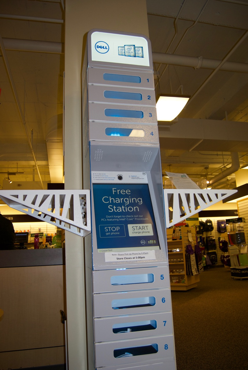 U Book Store Charging Locker