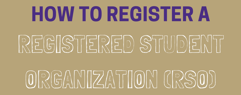 How to Register an RSO