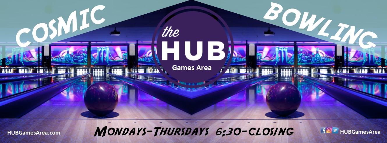 HUB Games Cosmic Bowling