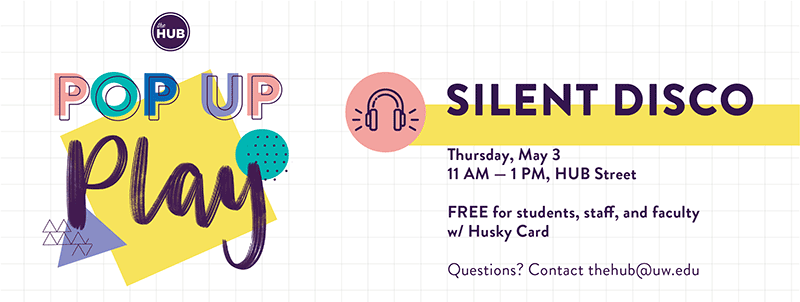 HUB Pop Up Play Silent Disco
