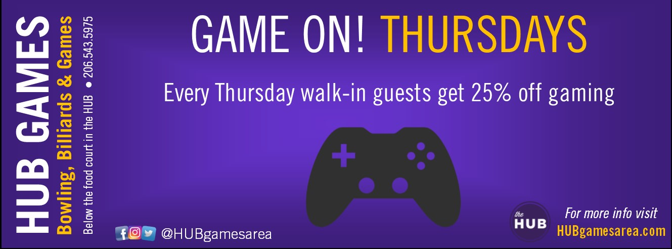 Game On Thursdays (web banner)