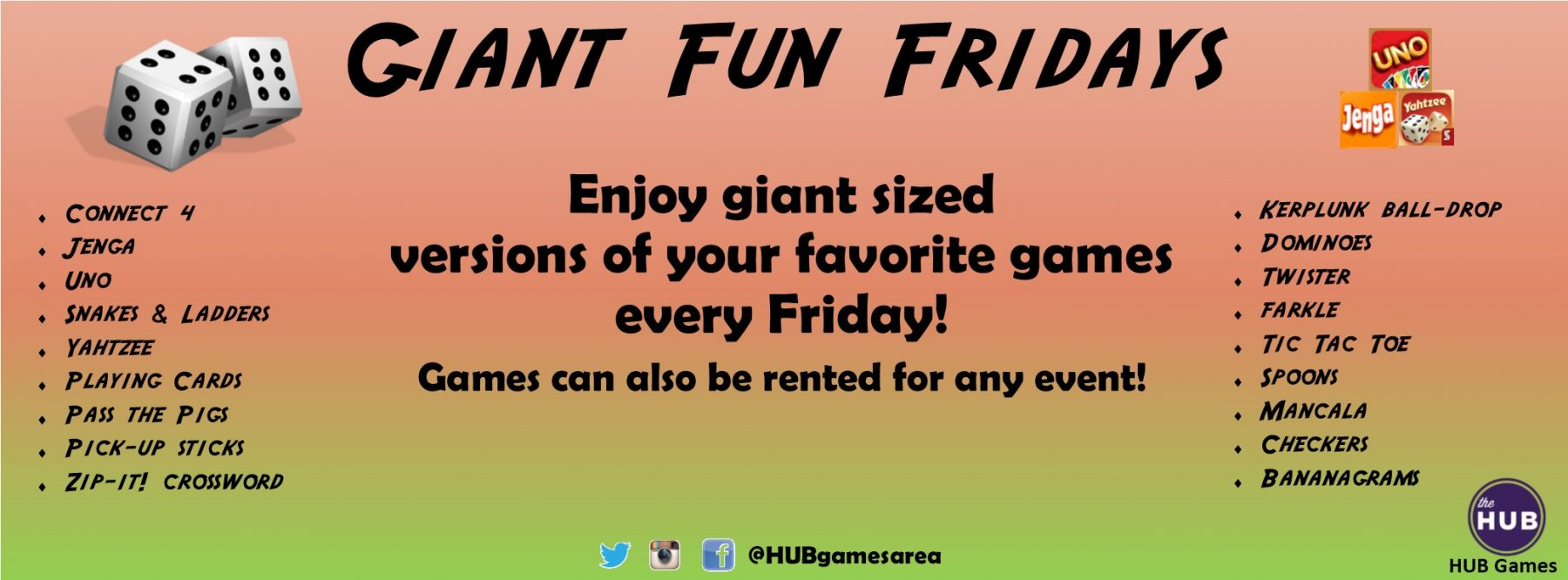 Giant Fun Fridays Web Banner