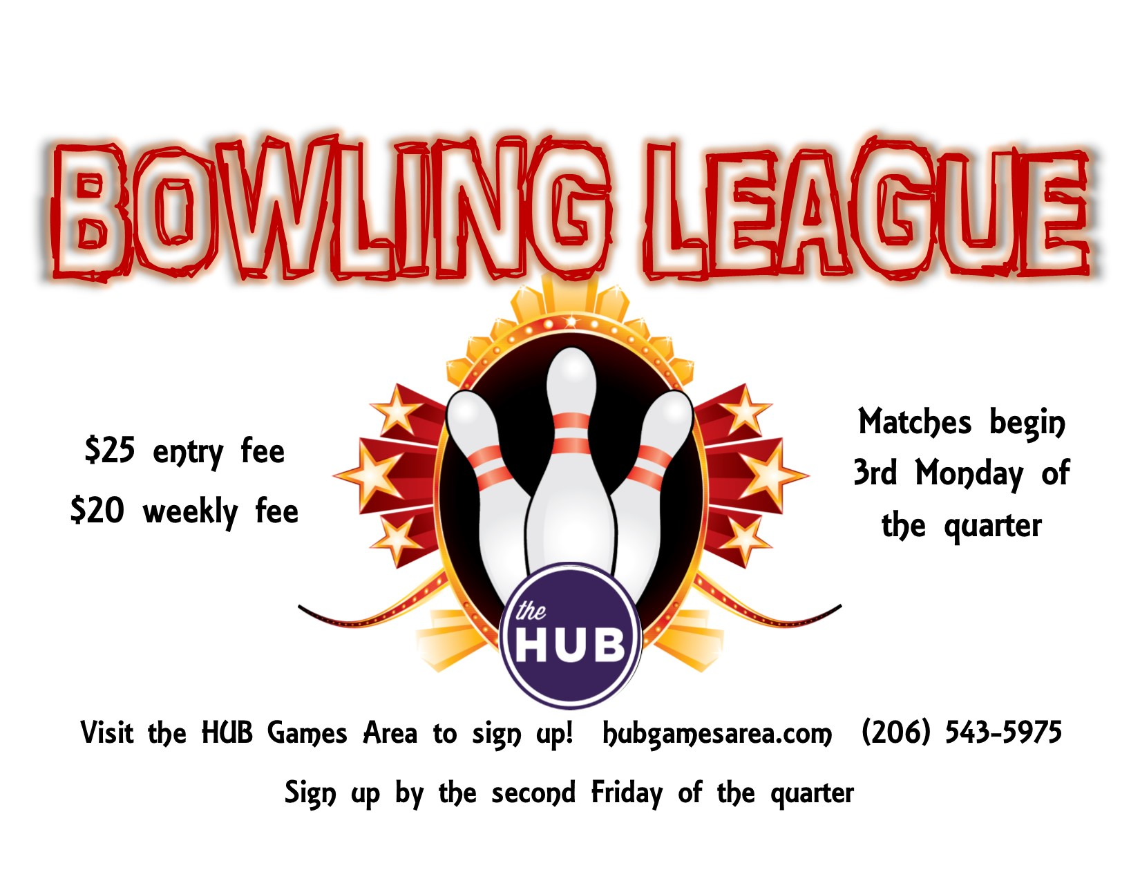 League Flyer (Web Banner)
