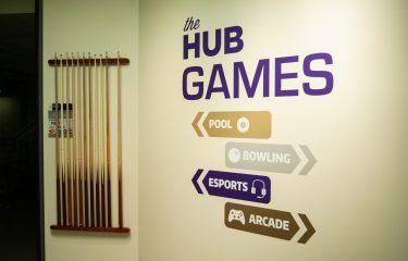 HUB Games Wall Painting