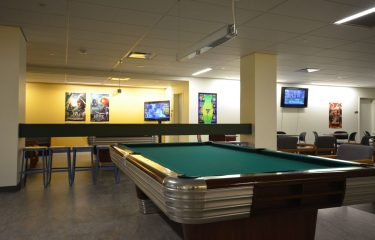 Pool Table Area In HUB Games