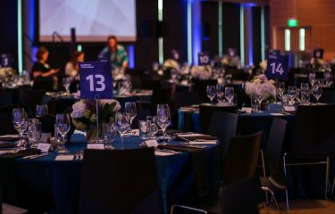HUB Event With Several Decorated Tables