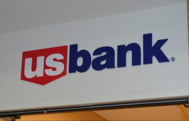 US Bank Sign in The HUB