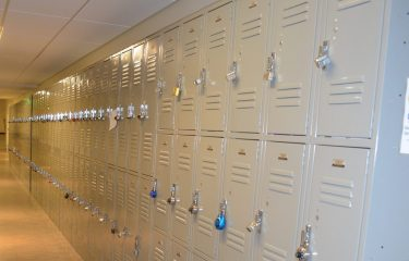 Row Of HUB Lockers