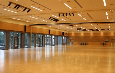 Empty HUB Ballroom