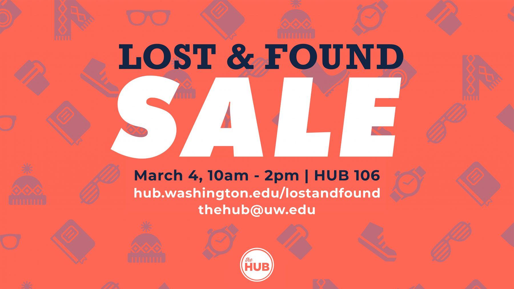 Lost & Found Sale Digital Display