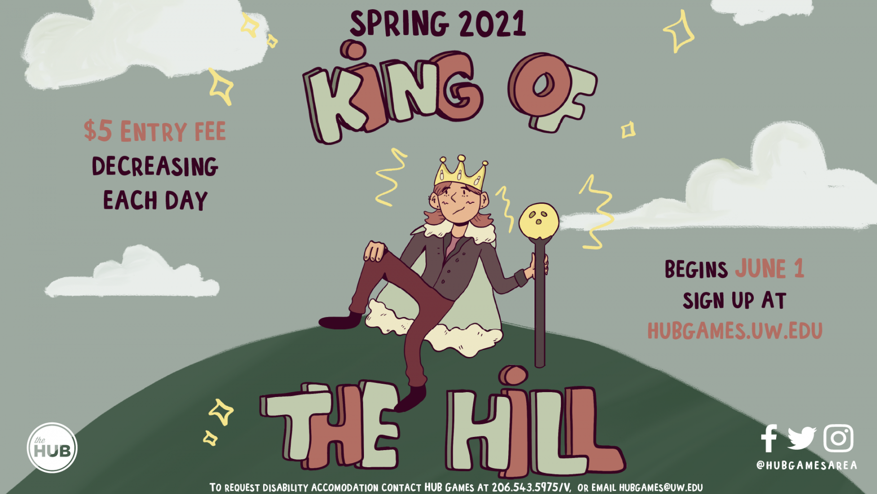 king of the hill (digital display)