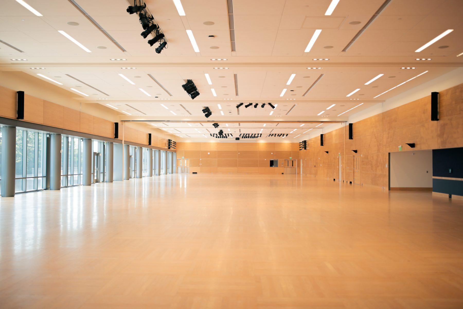 Open space set in Both Ballrooms