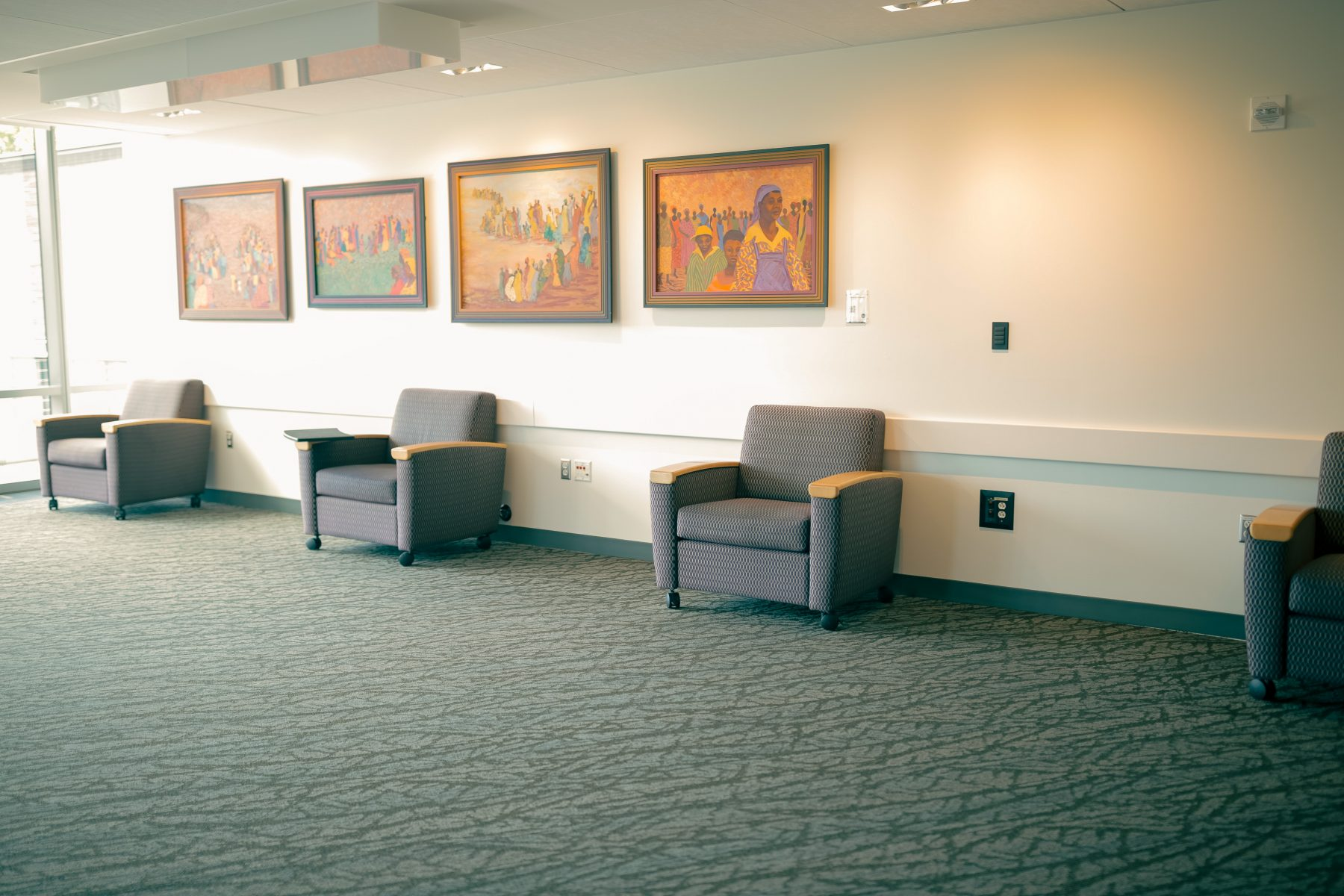 South Pre-Function is an open space with soft seating.